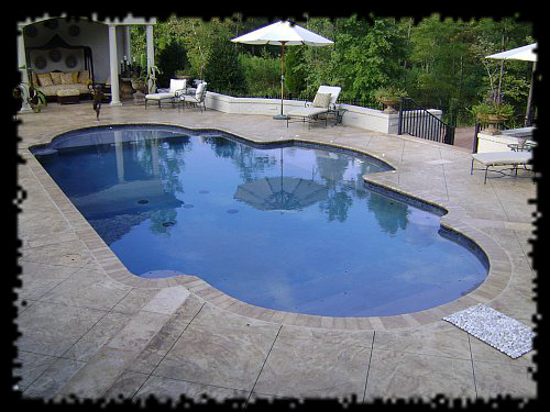 Swimming pool designs in raleigh 10 years experience for Custom swimming pool designs