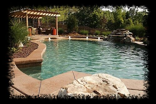 Swimming pool designs in raleigh 10 years experience for Swimming pool gallery