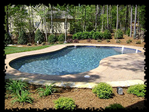 Lagoon Swimming Pool Designs: Swimming Pool Designs In Raleigh ⋆ 10 Years Experience ⋆