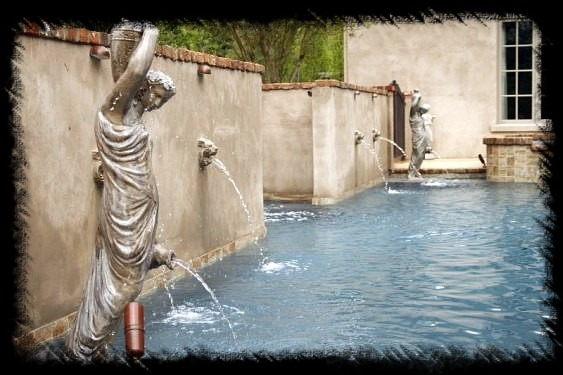 ⋆ Swimming Pool Water Features ⋆ Custom Designed ...